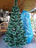 Новогодняя искусственная сосна Белые кончики 1,8 м, фото 1