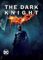 Плакат Batman The Dark Knight 31,5х44,5 см. / Постер Бэтмен Темный рыцарь