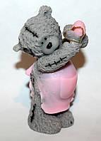 """Мыло ручной работы """"Мишка Тедди в фартушке"""""""
