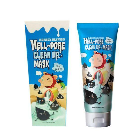 Маска-пленка для очищения пор Elizavecca Face Care Hell-Pore Clean Up Mask 100 ml