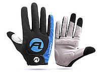 Велосипедные перчатки Arbot противоскользящие L Синий