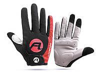 Велосипедные перчатки Arbot противоскользящие L Красный