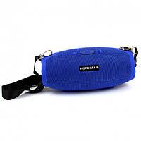 Портативная Bluetooth колонка Hopestar H26 с влагозащитой USB FM Blue mt-163, КОД: 1189798