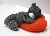 """Мыло ручной работы """"Мишка Тедди на сердце"""""""