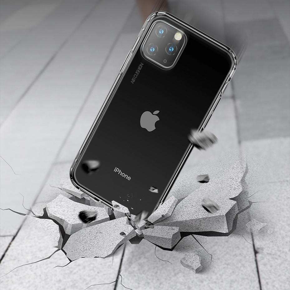Противоударный силиконовый чехол Baseus Airbags для iPhone 11
