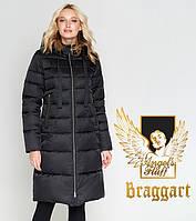Воздуховик Braggart Angel's Fluff 47250 | Куртка зимняя длинная черная, фото 1