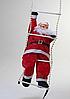 Дед Мороз, Санта Клаус на светящейся лестнице, 60см., фото 7