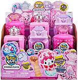 Сюрприз Пикми Попс, мягкая игрушка в бутылочке духов с блёстками, Pikmi Pops Cheeki Puffs, фото 4