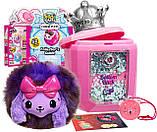 Сюрприз Пикми Попс, мягкая игрушка в бутылочке духов с блёстками, Pikmi Pops Cheeki Puffs, фото 2