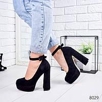 Туфли женские Izabella черные 8029