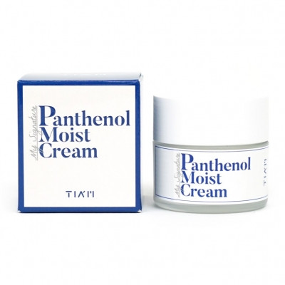 Восстанавливающий и увлажняющий крем для лица TIAM My Signature Panthenol Moist Cream, 50 мл