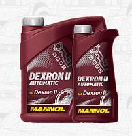 Трансмиссионное масло MANNOL DEXRON II АUТОMАTIC 1л.