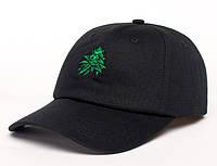Молодежная черная кепка, чоловіча кепка Urban Planet DAD HAT HEMP