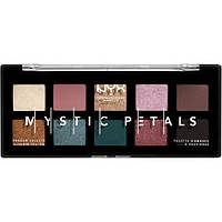 Палетка теней NYX Professional Makeup Mystic Petals Shadow Palette Dark Mystic