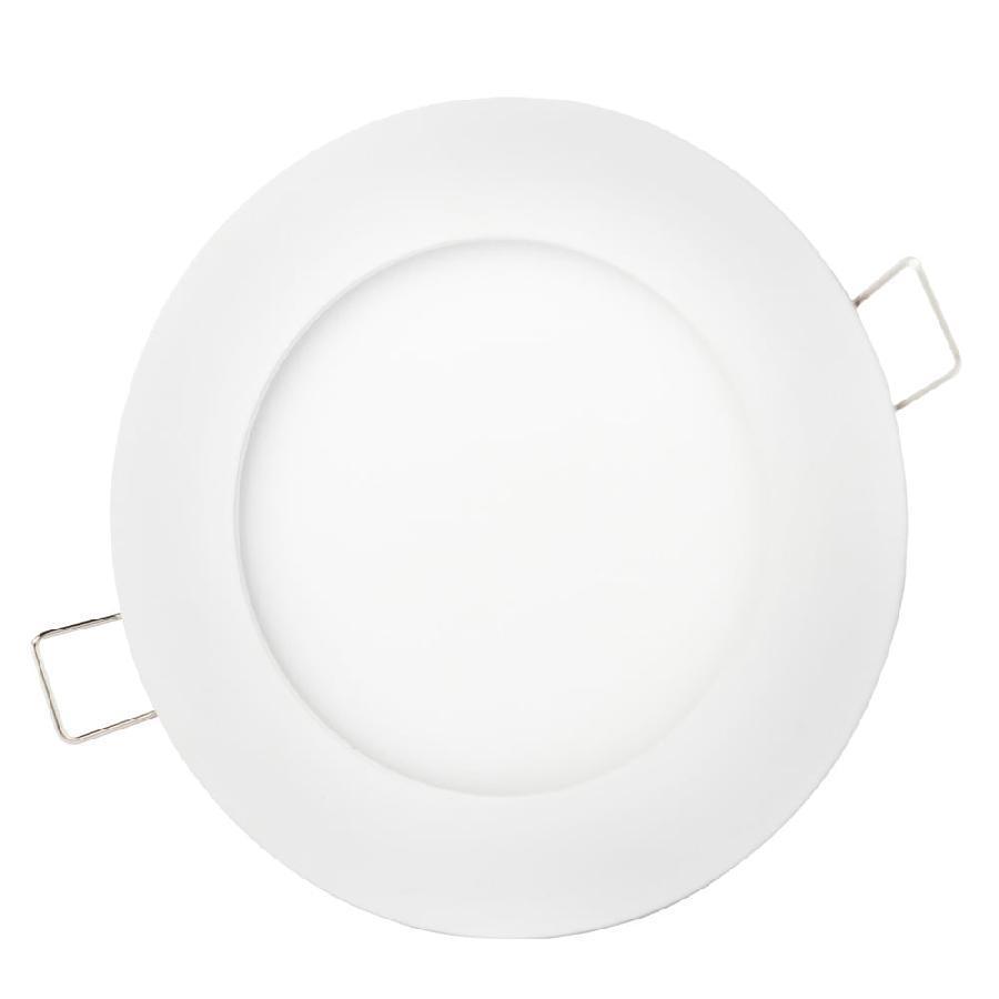 Світильник точковий врізний ЕВРОСВЕТ 9Вт коло LED-R-150-9 4200К