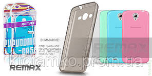 Чехол Ultra Thin Silicon Remax 0.2 mm LG G3 Stylus/D690 Pink