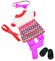 Набор одежды для кукол - Платье с принтом Our Generation