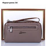 Женская кожаная сумка-клатч DESISAN (ДЕСИСАН) SHI2012-283, фото 9
