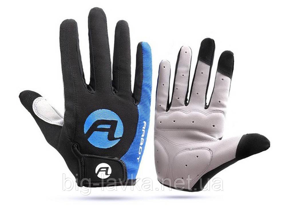 Противоскользящие велосипедные перчатки Arbot  Синий