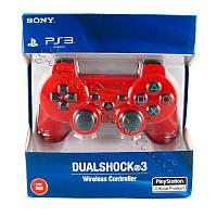 Джойстик беспроводной PS 3 RED ( premium)
