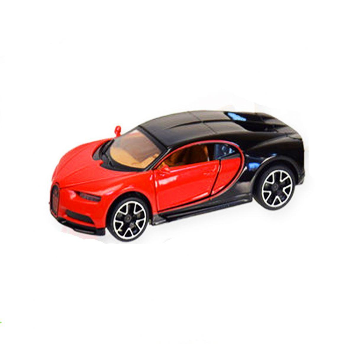 """Машинка """"Bugatti Chiron"""" из серии """"Автопром"""" (красная) 7866"""