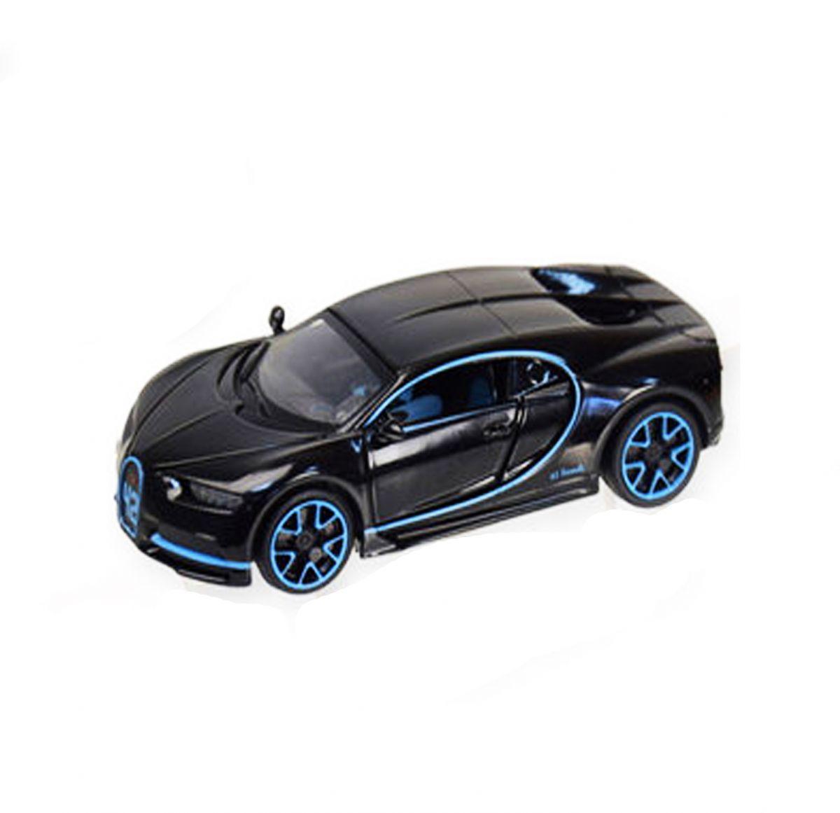 """Машинка """"Bugatti Chiron"""" из серии """"Автопром"""" (черная) 7866"""