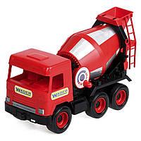 """Авто """"Middle truck"""" бетономешалка (красный) в коробке 39489, фото 1"""