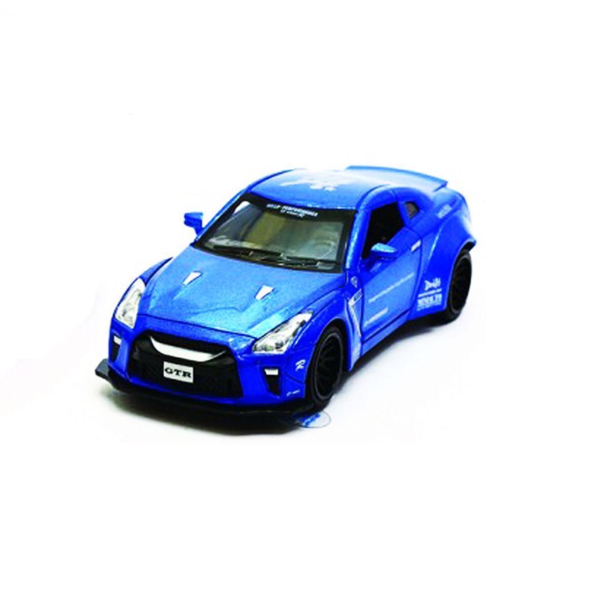 """Машинка """"Nissan GTR"""" из серии """"Автопром"""" (синяя) 7862"""