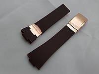 Ремешок к часам Ulysse Nardin коричневый, застежка цвета золото