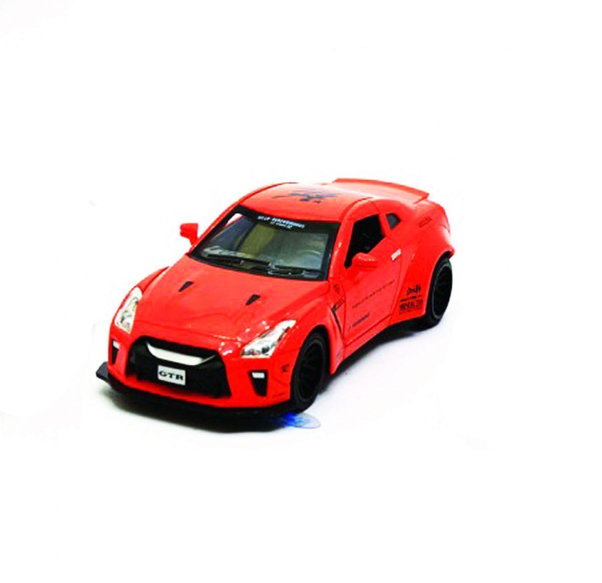 """Машинка """"Nissan GTR"""" из серии """"Автопром"""" (красная) 7862"""