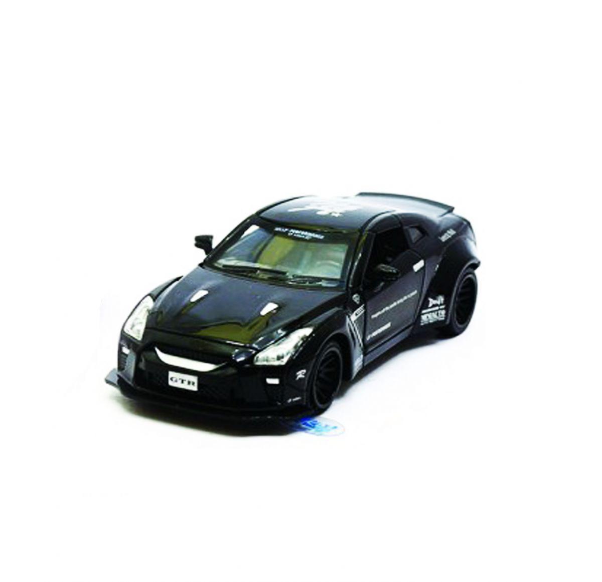 """Машинка """"Nissan GTR"""" из серии """"Автопром"""" (черная) 7862"""