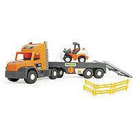 """Super Tech Truck"""" с бульдозером 36720"""