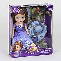 Кукла Принцесса ZT 8869 с питомцами, свет, звук, светится платье