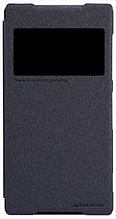 Чехол Nillkin Sony Xperia Z2 - Spark series Black черный