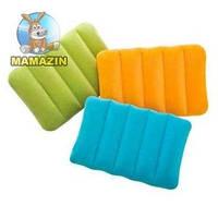 Надувная подушка цветная Интекс