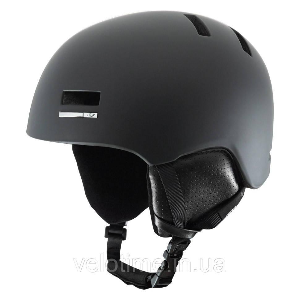 Шлем зим. Giro Shiv (52-55,5 см, матовый черный)