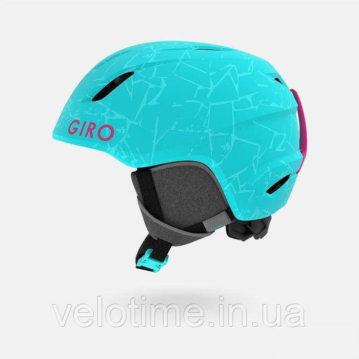 Шлем зим. Giro Launch детский (S (52-55.5см), мат. Glacier Rock S)