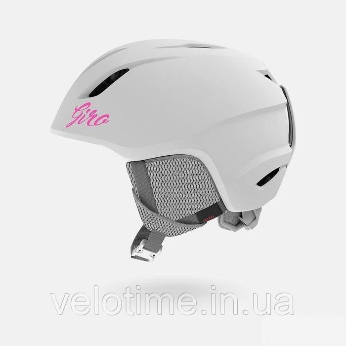Шлем зим. Giro Launch детский (S (52-55.5см), мат.бел)