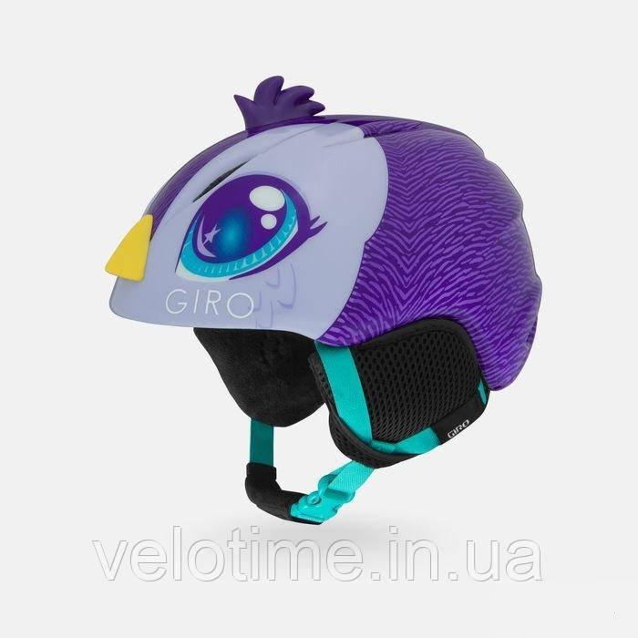 Шлем зим. Giro Launch Plus детский (S (52-55.5см), фиол. Penguin)