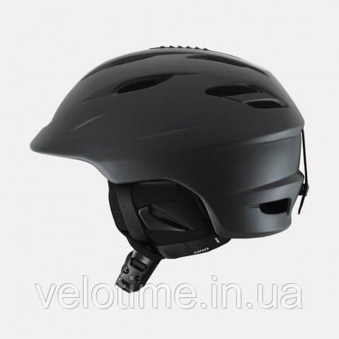 Шлем зим. Giro Seam  (55,5-59 см, матовый черный-красный)