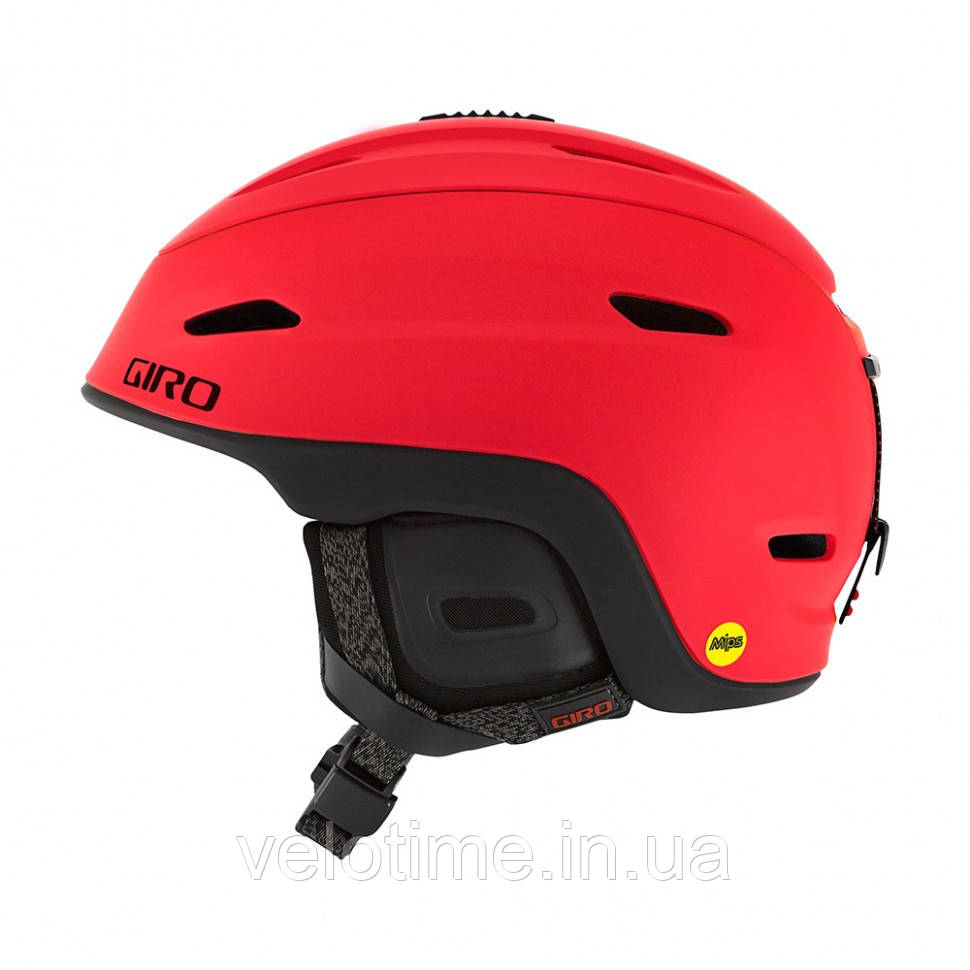 Шлем зим. Giro Zone Mips (55.5-59 см, матовый черный)