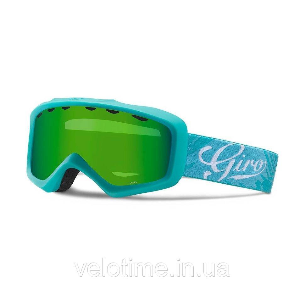 Маска зим. Giro Charm  Flash  (аква/Turquoise Tropical, Loden Green)