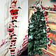 3 Деда Мороза на лестнице, по 25см., фото 9