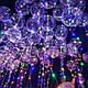 """Светодиодный шар бобо bobo 19"""", Воздушный светящийся на палочке с гирляндой в комплекте, фото 9"""