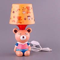 Lefard Ночник настольный светильник с абажуром Мишка 32 см