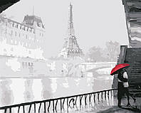 Картина по номерам Місто кохання, 40x50 см., Art Story