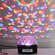 Светодиодныйдиско-шар ночник Crystal Magic Ball Light, Цветомузыка, MP3, USB, Bluetooth, Пульт, фото 3