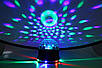Светодиодныйдиско-шар ночник Crystal Magic Ball Light, Цветомузыка, MP3, USB, Bluetooth, Пульт, фото 7