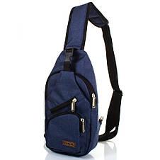 Мужская сумка-рюкзак DNK LEATHER (ДНК ЛЕЗЕР) DNK-JOKER№2-BAG-2, фото 2