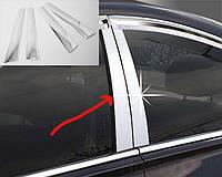 Hyundai Getz Пленка на стойки хром